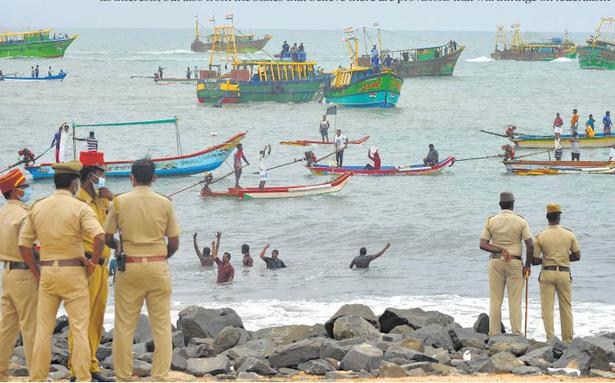 A netting trouble - The Hindu