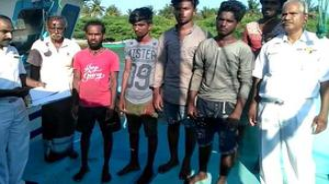 11 Sri Lankan fishermen rescued