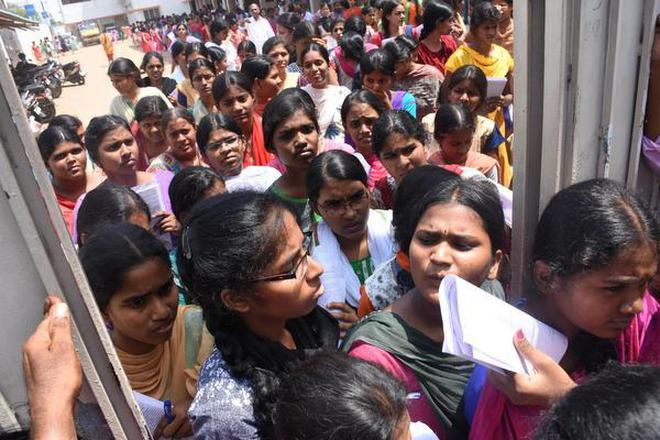 Supreme court stays madras hc order awarding extra marks to neet students come out after finishing the neet at a centre in tiruchi file thecheapjerseys Gallery