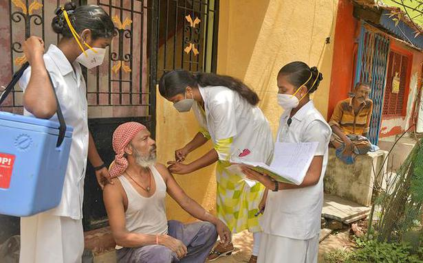 14.68 lakh people receive second dose of vaccines