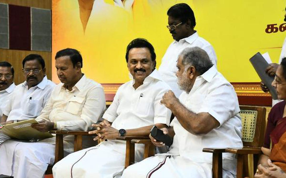 DMK to prepare for local body polls with allies - The Hindu