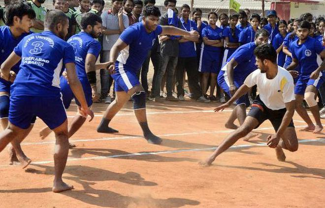 inter college sports competition begins the hindu