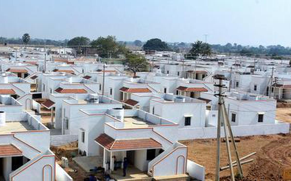 2BHK houses for the poor remains a distant dream - The Hindu