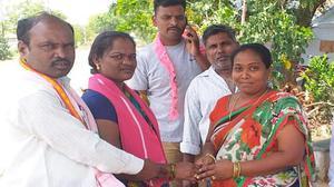 An election reunites estranged Telangana couple