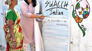 Swachh honour for Peddapalli