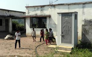 Girl students in Adilabad district shun prefab toilets, stick to old ones