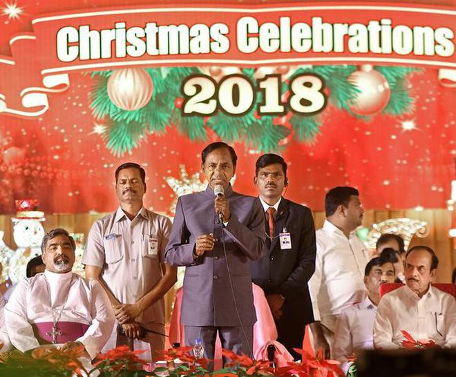 Telangana to celebrate Christmas as state Festival