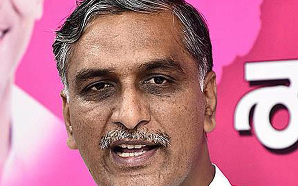 TRS Minister Harishrao Imposes Self Quarantine As His PA Was Tested Positive