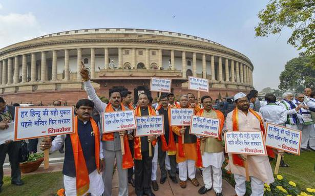 Protests over Rafale, Cauvery rock Parliament