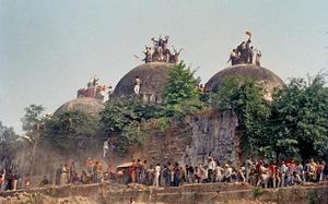 Can court ask a secular State to construct a temple?