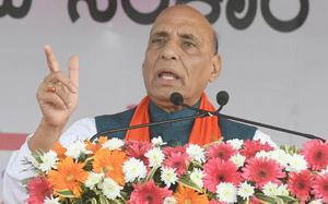 Rajnath says SAARC's full potential not utilised due to a single country