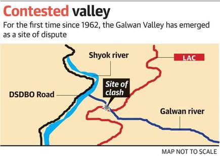 China demands India's withdrawal from Galwan Valley - The Hindu