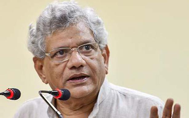 Yechury rejects idea of projecting Rahul as PM candidate now