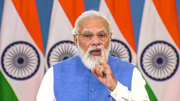PM Modi urges mutual consent for COVID-19 vaccine certificates