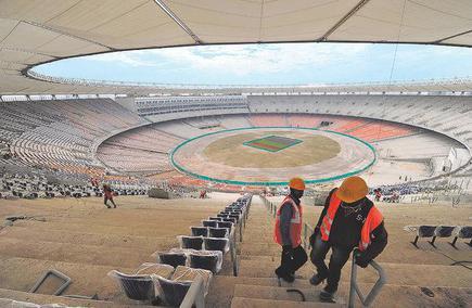 Image result for sardar patel stadium