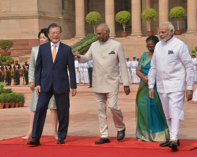 India A Stakeholder In Korean Peace Modi The Hindu