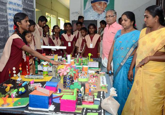 science exhibition held the hindu