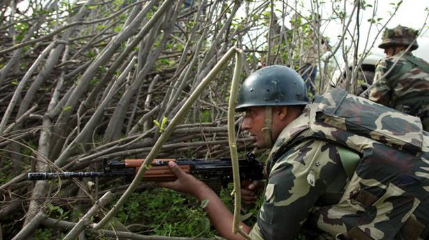 Three terrorists killed in infiltration bid in J&K