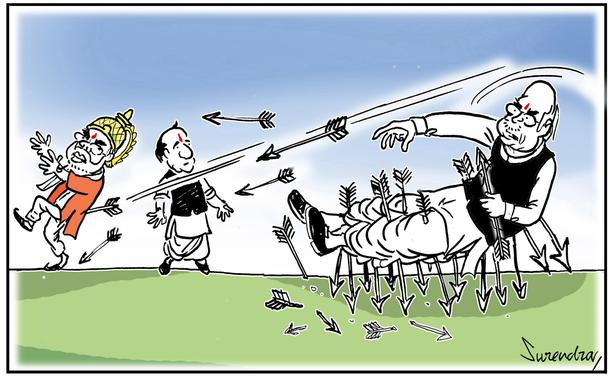 Surendra Picks His Top 10 Favourite Editorial Cartoons On World