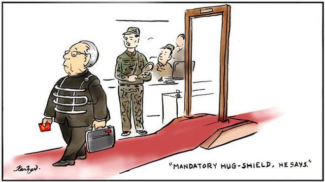 Editorial Cartoons Latest Political The Hindu