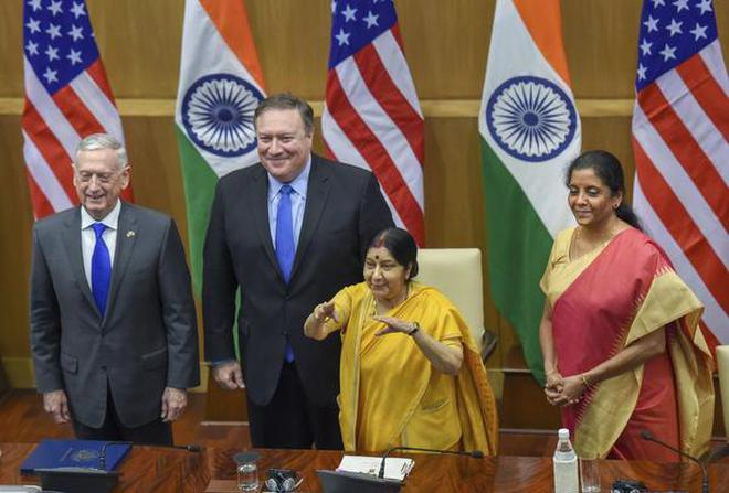 Too Close For Comfort On The India Us 22 Meeting The Hindu