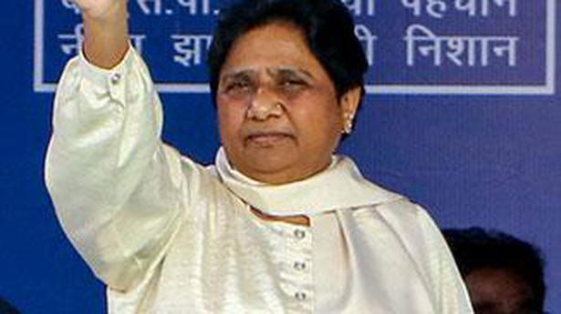 Mayawati asks voters to guard against tactics of rival parties - The Hindu