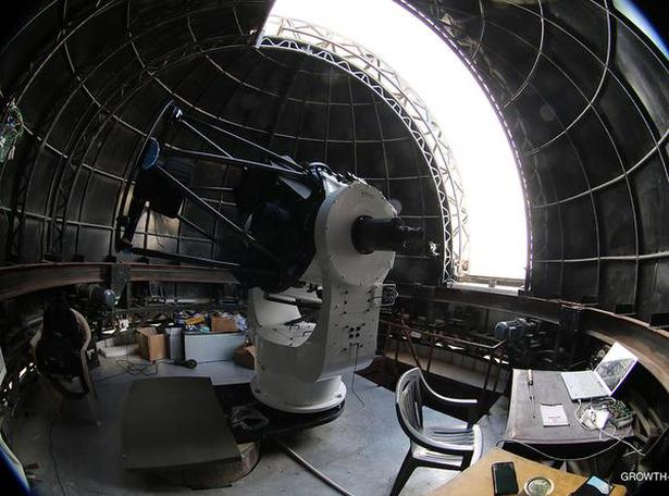The telescope can view stellar objects that are thousands to millions of light years away.