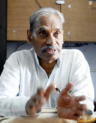 THIRUVANANTHAPURAM, 02/09/2010: Subhash Palekar, farmer and founder of Zero Budget Natural Farming, in Thiruvananthapuram. Photo: S. Mahinsha 02-09-2010