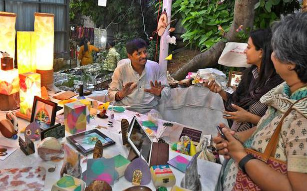 This Bengaluru-based artist is turning trash into treasure
