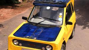 A Chennai-built solar car is headed to Australia