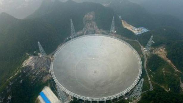 Watch | World's largest radio telescope