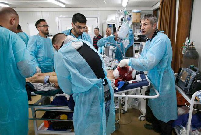 Lifesaving front line response the hindu situation update the world health organization the federal ministry of health iraq and the ninewa department of health have opened a trauma field hospital publicscrutiny Gallery