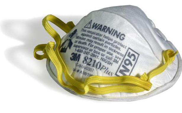 COVID-19: DGHS cautions against use of N-95 valved respirator masks