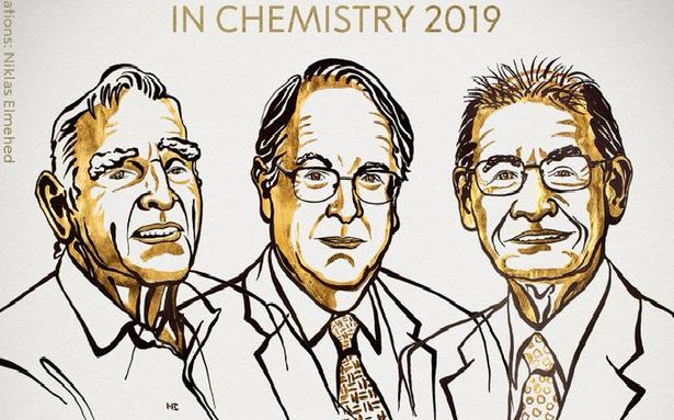 Three scientists share Chemistry Nobel for developing lithium-ion batteries