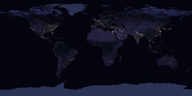 NASA Images Show How India Looks From Space At Night