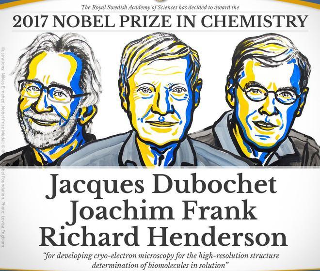 Image result for nobel prize chemistry 2017