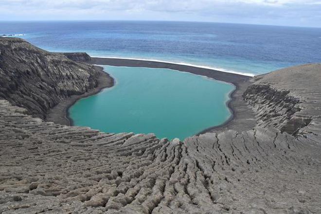 New island may offer insights into mars the hindu deep secrets the new island unofficially known as hunga tonga hunga ha apai photo credit nasaafp sciox Images