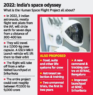 With human space flight, India to push frontiers