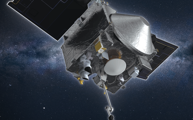 Asteroid samples leaking from jammed NASA spacecraft