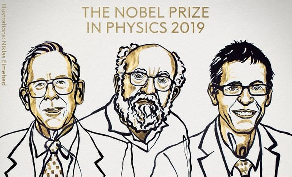 James Peebles, Michel Mayor and Didier Queloz Get🎖Nobel Prize for Physics