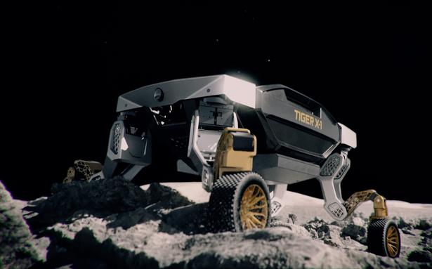 Watch   Hyundai's concept vehicle 'TIGER' can walk on four legs