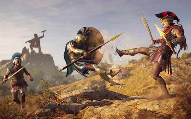 Gamespot Assassin S Creed Odyssey Greek Lightning The Hindu