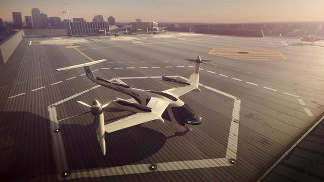 Image result for uber nasa flying taxi