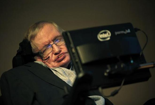 Professor Stephen Hawking. File photo.