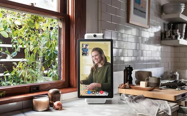Facebook launches smart speakers for video calls