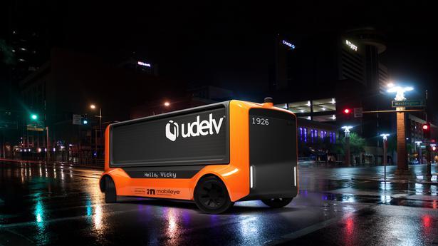 Intel unit to build a fleet of autonomous delivery vehicles