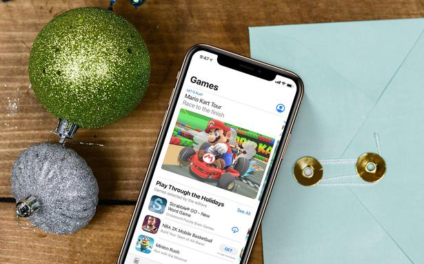 This Christmas people spent 7 million on apps worldwide