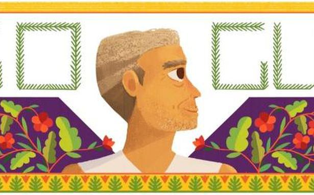 Google honours social worker Baba Amte with Doodle on his 104th birth anniversary