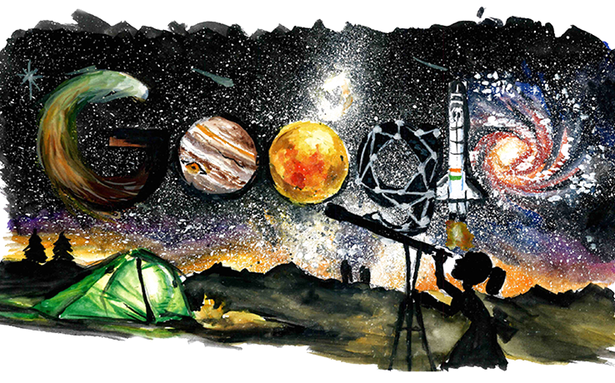 Mumbai girl bags top prize at Doodle 4 Google contest with space exploration doodle