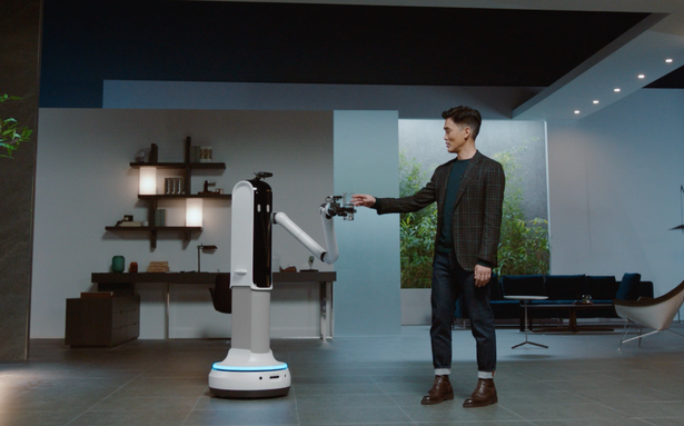 Samsung's new robot can serve you a drink